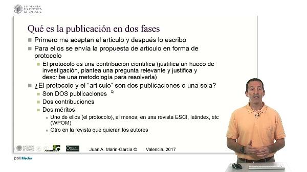 Publicación en dos fases