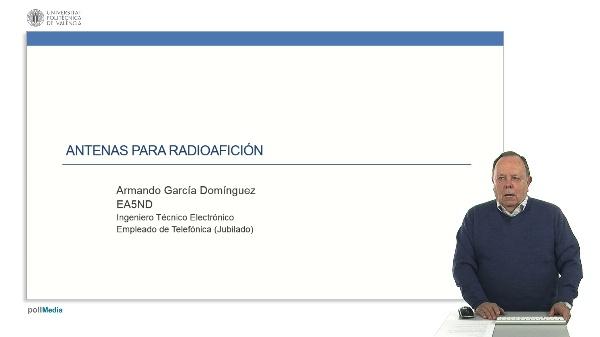 Antenas para radioaficionados.