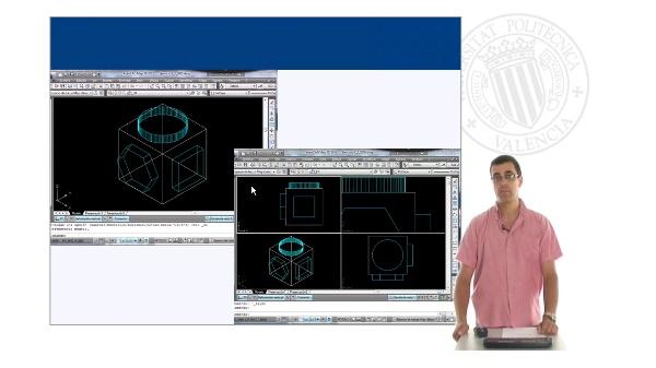 Manejo de ventanas gráficas en mosaico en AutoCAD