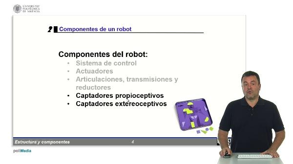 Robotica: componentes - Captadores