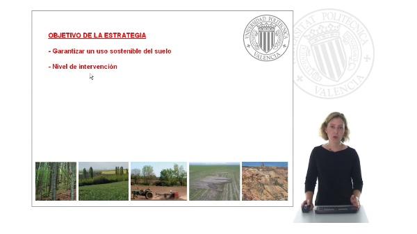 Estrategia temática para la protecicón del suelo - Objetivo de la estrategia