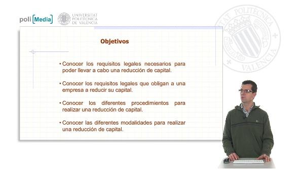 Las reducciones de capital. Aspectos legales básicos necesarios para su registro contable