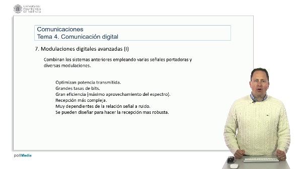 Introducción a las radiocomunicaciones. Modulaciones digitales avanzadas 1