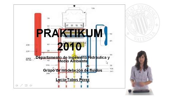 Praktikum 2010 - Grupo de Modelación de Fluidos