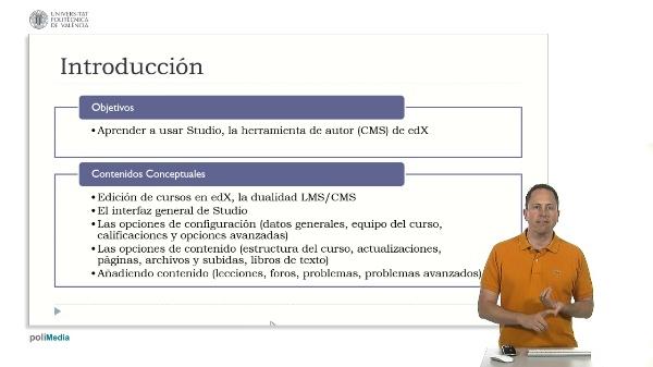 Studio, herramienta de autor de edX. Introducción (2)