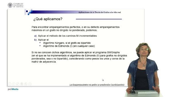 S5.9.- Emparejamientos en grafos no ponderados (modelizacion)