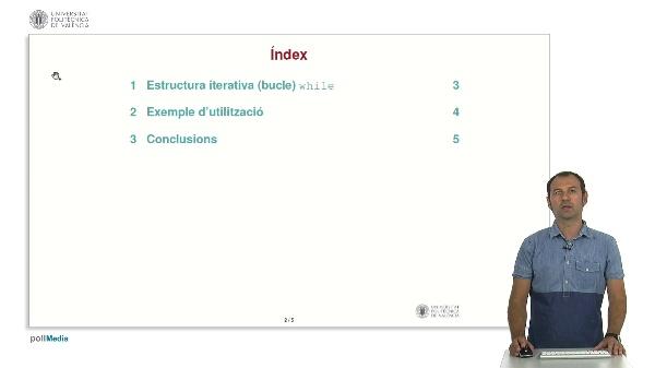 Llenguatge C: Estructura iterativa while