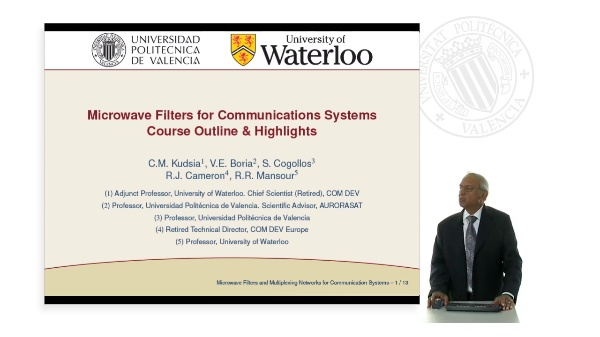 Microwave Filters for Communications Systems Course Outline & Highlights