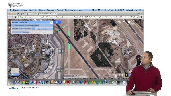 Ingeniería aeroportuaria. Indicadores zonas de uso restringido