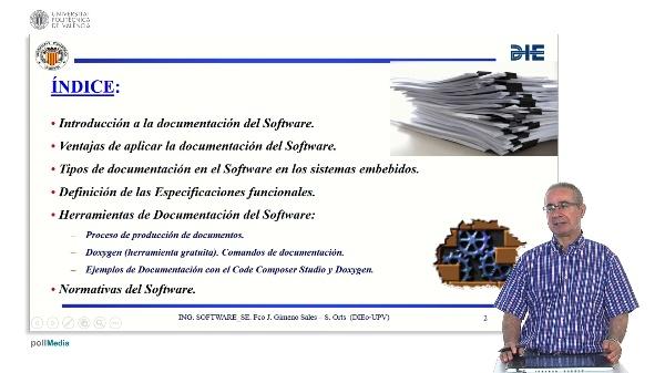 Curso de ingeniería del software para sistemas embebidos. Modulo 10. Parte 1. Documentación del Software.