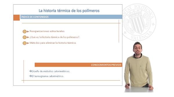 La História Térmica de los Polímeros