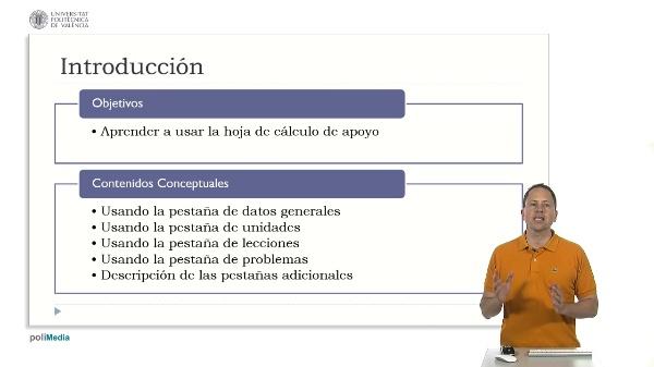 Usando la hoja de cálculo. Introducción (2)