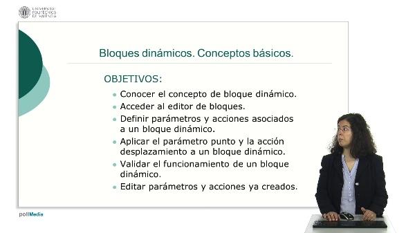 Bloques dinámicos. Conceptos básicos