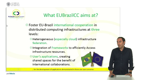 EUBrazil Cloud Connect project overview