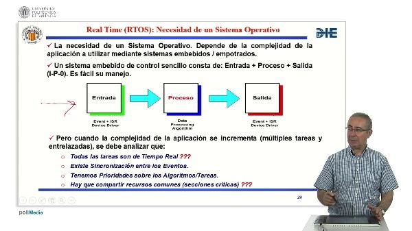 Curso de ingeniería del software para sistemas embebidos. Modulo 14 parte 3. Sistema Operativo RTOS.