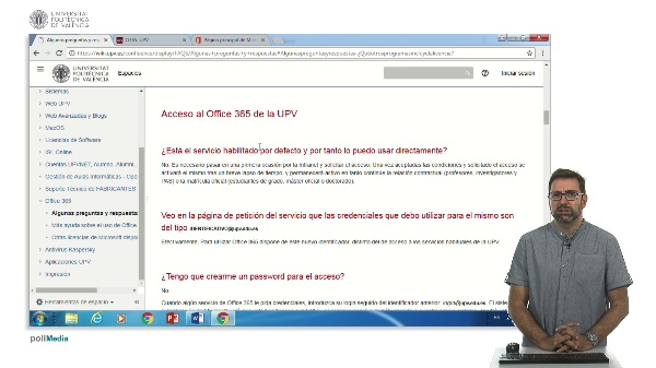 Licencia Office 365 y  word 2016 en la UPV