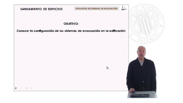 Tipologias de sistemas de evacuación