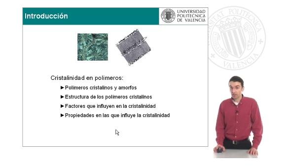 Materiales poliméricos: cristalinidad