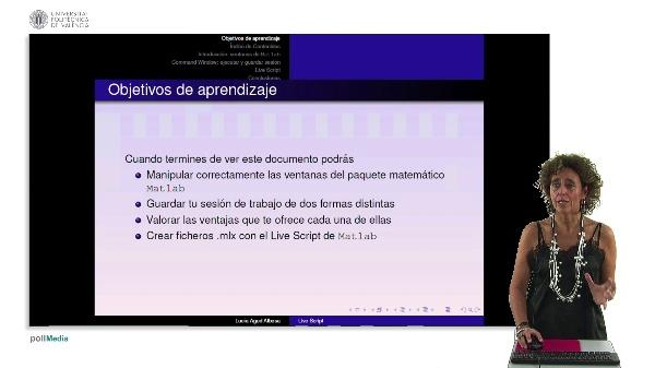 Cómo guardar una sesión de trabajo con MatLab: Command Window y Live Script