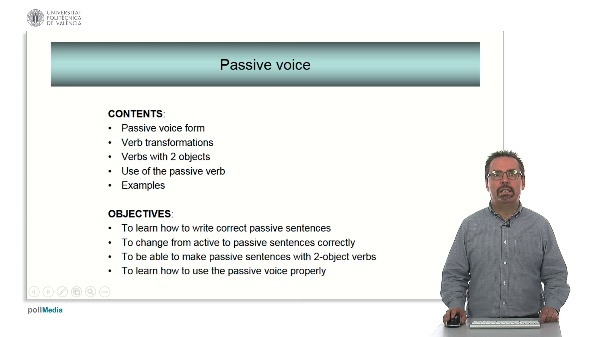Technical English - Passive voice