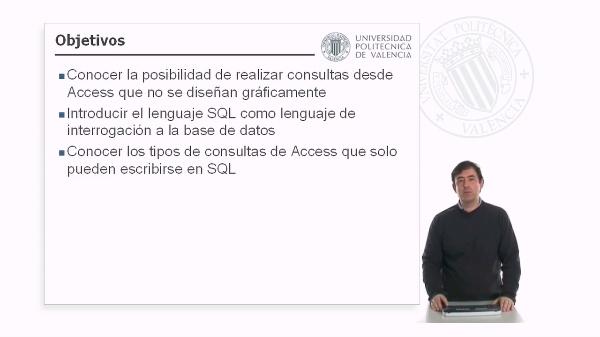 Microsoft Access - Consultas específicas de SQL