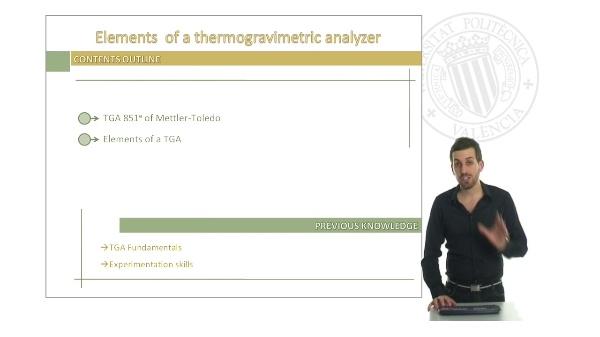 Elements of a TGA