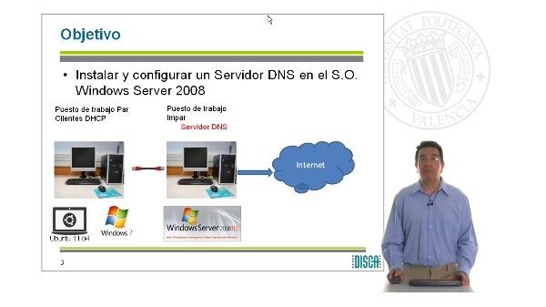Instalación del Servidor DNS en Windwos Server 2008 (RAL código 5862)