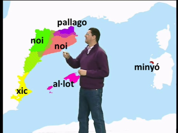 Els dialectes geogràfics i el lèxic