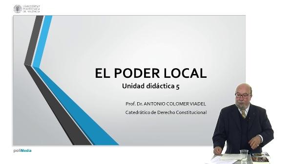 El poder local