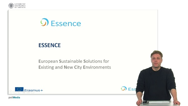 Essence. European Sustaniable Solutions for Existing and New City Environments. Presenter 12