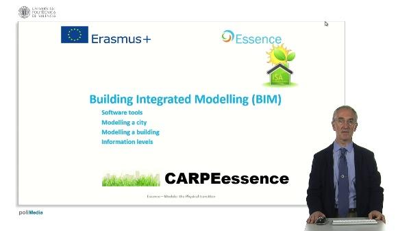 Building Integrated Modelling (BIM)