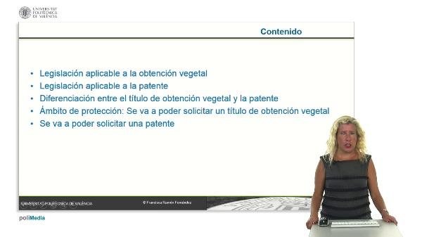 Diferenciación entre el título de obtención vegetal y la patente