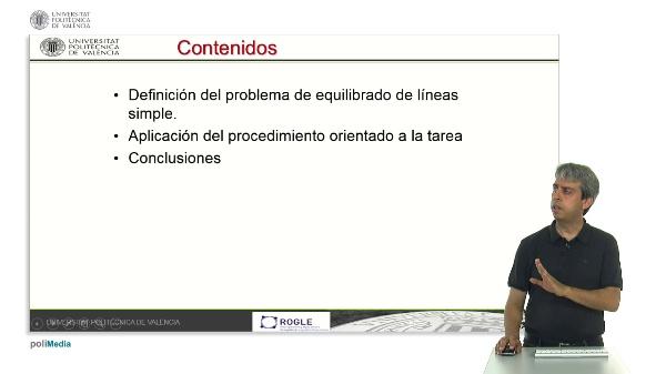 Equilibrado de líneas simples mediante heurísticas constructivas orientadas a la tarea