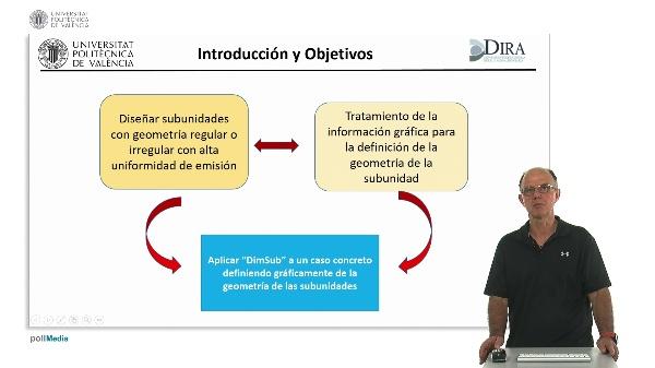 Diseño de subunidades de riego localizado de utilizando ¿dimsub¿. Definición gráfica de la geometría