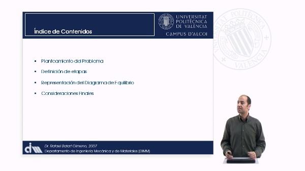 Representación de Diagramas de Equilibrio a partir de las Transformaciones. Peritéctica