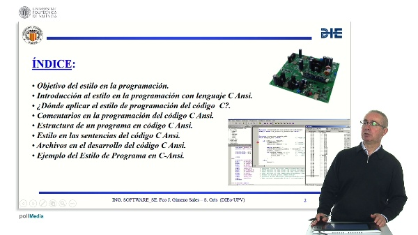 Curso de ingeniería del software para sistemas embebidos. Modulo 5 parte 1. Estilo de programación