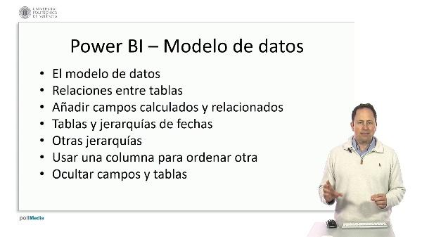 MOOC Power BI. Modelado. Resumen