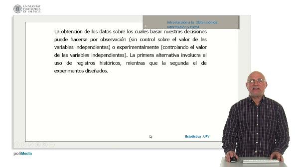 Introduccion a la obtencion de informacion y datos