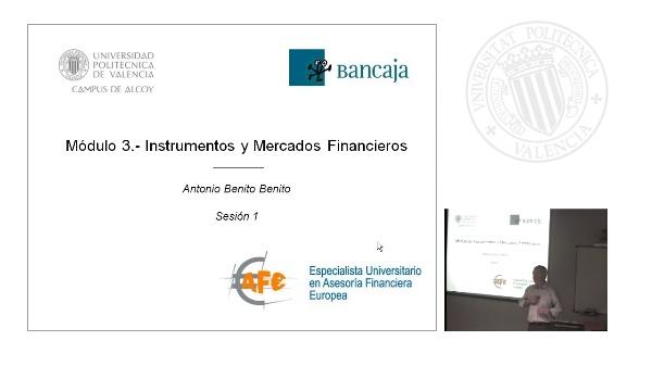 Productos y Mercados Financieros 2. Sesión de teoría