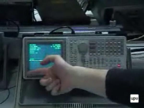 Manejo del analizador de espectros Tek2711
