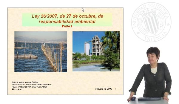 Ley 26/2007, de 27 de octubre, de responsabilidad ambiental - Parte I