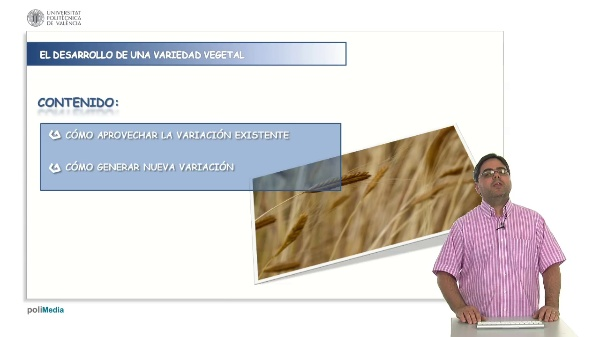 El aprovechamiento de la variacion en programas de mejora genetica vegetal