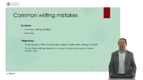 Technical english: common writing mistakes