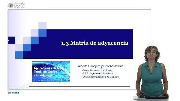 S1.3- Matriz de adyacencia