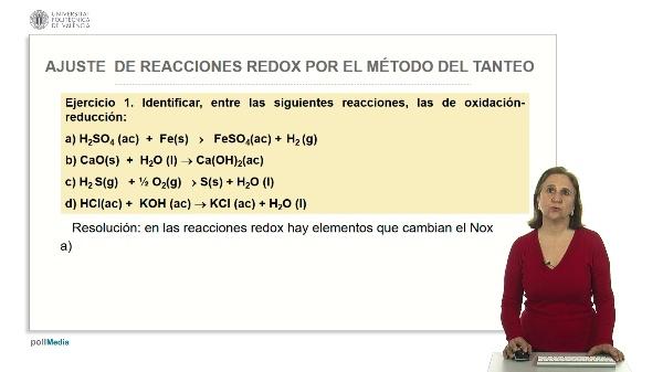 Ajuste de reacciones redox por el método de tanteo. Ejercicios prácticos