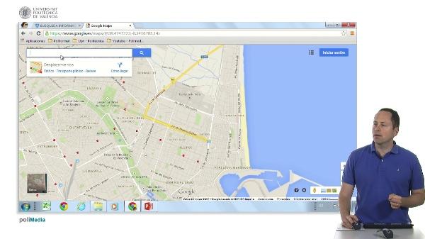 La nueva Interfaz de Google Maps