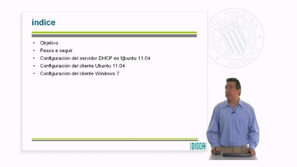 Configuración del servidor DHCP en Ubuntu 11.04 (RAL código 5862)