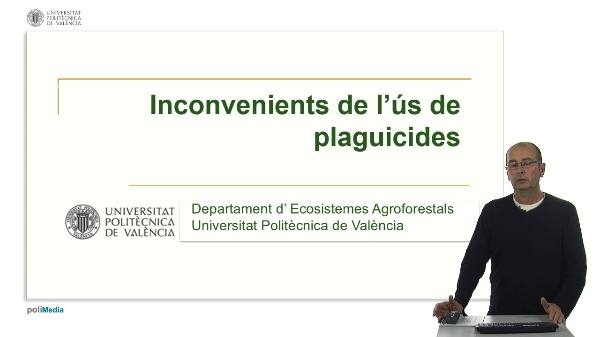 Inconvenient de l'ús de plaguicides