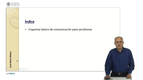 Esquema y principios básicos para la comunicación de las aerolíneas