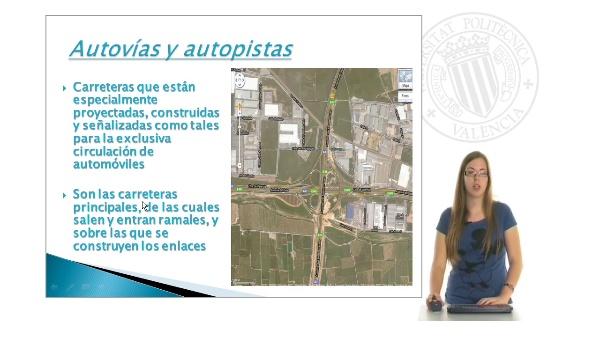 Estudio del espaciamiento de enlaces y separación de ramales en la red de autovías y autopistas de la Comunidad Valenciana I